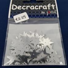 DECRACRAFT STARS SEQ SILVER