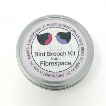 BIRD BROOCH KIT IN A TIN