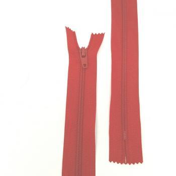 TR 12 inch/30cm NYLON ZIP RED