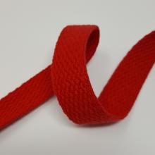 1 inch COTTON WEBBING RED