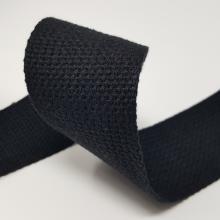 2 inch COTTON WEBBING BLACK