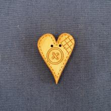SEWN HEART PATCHED