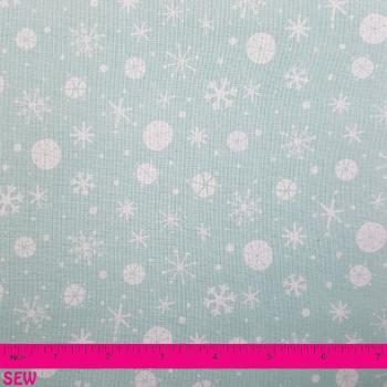DASHWOOD SNOWFLAKES ON BLUE
