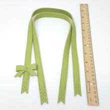 BAG HANDLES SYNTHETIC LEATHER GREEN